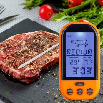 Knife Multimedia Strawberry Vegetable Kitchen Utensil Thermometer Kitchen Kitchen Thermometers
