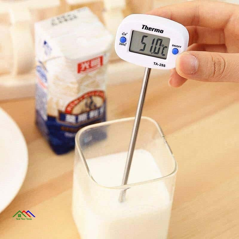Digital Food BBQ Electronic Probe Thermometer Kitchen Kitchen Thermometers