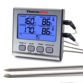 LCD Probes Digital Outdoor Meat Thermometer Kitchen Kitchen Thermometers