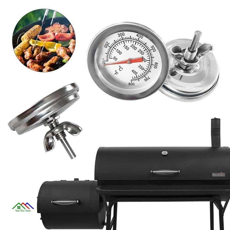 Circle Multimedia Kitchen Metal Meat Thermometer Kitchen Kitchen Thermometers