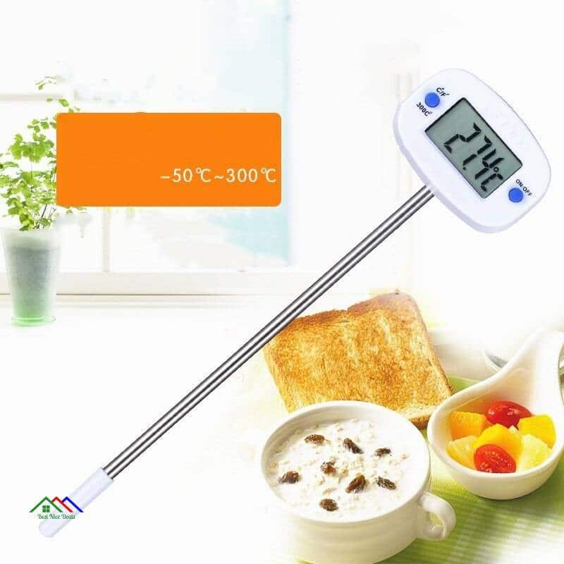 Digital Electronic Probe Cooking Food Thermometer Kitchen Kitchen Thermometers