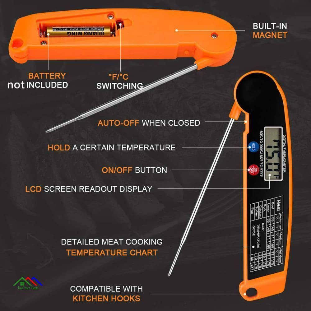 Digital Meat Water Kitchen Food Thermometer Kitchen Kitchen Thermometers