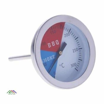 Stainless Steel BBQ Food Kitchen Thermometer Kitchen Kitchen Thermometers Color: Black